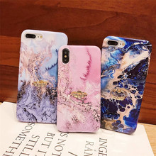 Jewelled Ring holder Mobile phone Marble cover fundas For Apple iPhone XR XS MAX 8 7 plus 6 6s X cases