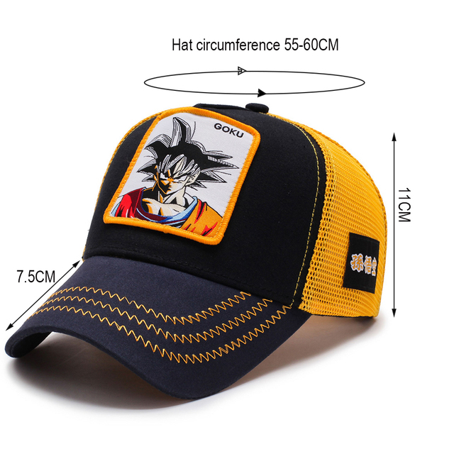 XPeople Adjustable Hat for Dragonball Dragon Ball Z DBZ Anime Fan Cosplay Costume Snapback Cap Hip Hop Hat 2
