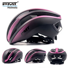 Pmt novo capacete de bicicleta integralmente moldado ciclismo capacete respirável estrada montanha mtb capacete da bicicleta