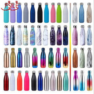 Image 1 - FSILE 500/1000ml Double Wall Insulated Vacuum Flask Stainless Steel Water Bottle Cola Water Beer Thermos for Sport Bottle /6