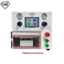 Machine à plastifier sous vide OCA TBK108P, pour la réparation des graisses, tablettes droites et courbes, LCD