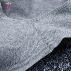Image 3 - Paerlan Sujetador deportivo con cierre frontal sin aros, pecho pequeño, Push Up, ropa interior sólida sin costuras, cómoda