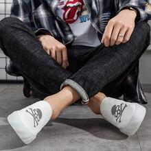 Shoes Men Casual Skull Canvas Fruit Frozen Bottom Hot Sell Summer Breathable Korean Version of Lazy Hundred