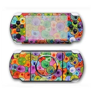 Image 4 - كامو تصميم جلد فينيل ملصق حامي لسوني PSP 3000 غطاء مائي لملحقات لعبة PSP3000