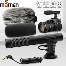 MIC-02/MIC-03/MIC-05/MIC-06/MIC-07 3.5mm Mobile Phone/Camera Microphone Video Recording Super-cardioid Pointing Stereo Mic 2019 цены