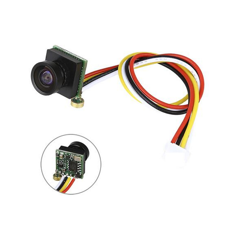 Mista 1000TVL 2.8mm  600TVL 1/4 1.8mm CMOS Super Mini 170 Degree 1200TVL 150Degree FPV Camera Audio For RC Drone Airplane