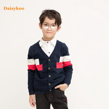 Kids Boys Sweater 2019 Autumn Winter Knitted Cotton Toddler Clothing  Outerwear Coat For 2-7 Years Y015