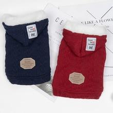 Coat Sweater Chihuahua Puppy Dogs Small Winter Wool Autumn Warm for Bichon Schnauzer