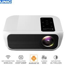UNIC T8 8000 Lumens 1080P Full HD Home Theater 200'' Project