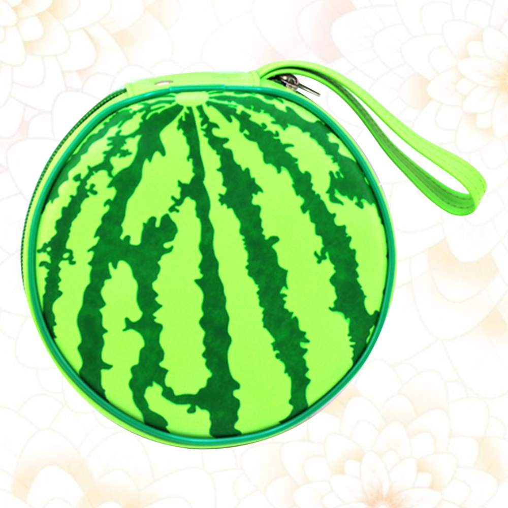1pc Portable Storage Bag Creative Watermelon Shaped Storage Pouch Delicate Organizer Container Save 50-70%