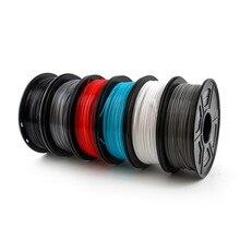 3D Printer Filament 1.75mm 1KG TPU Flexible Filament 3D Plastic Printing Filament Printing Materials Gray Black Blue