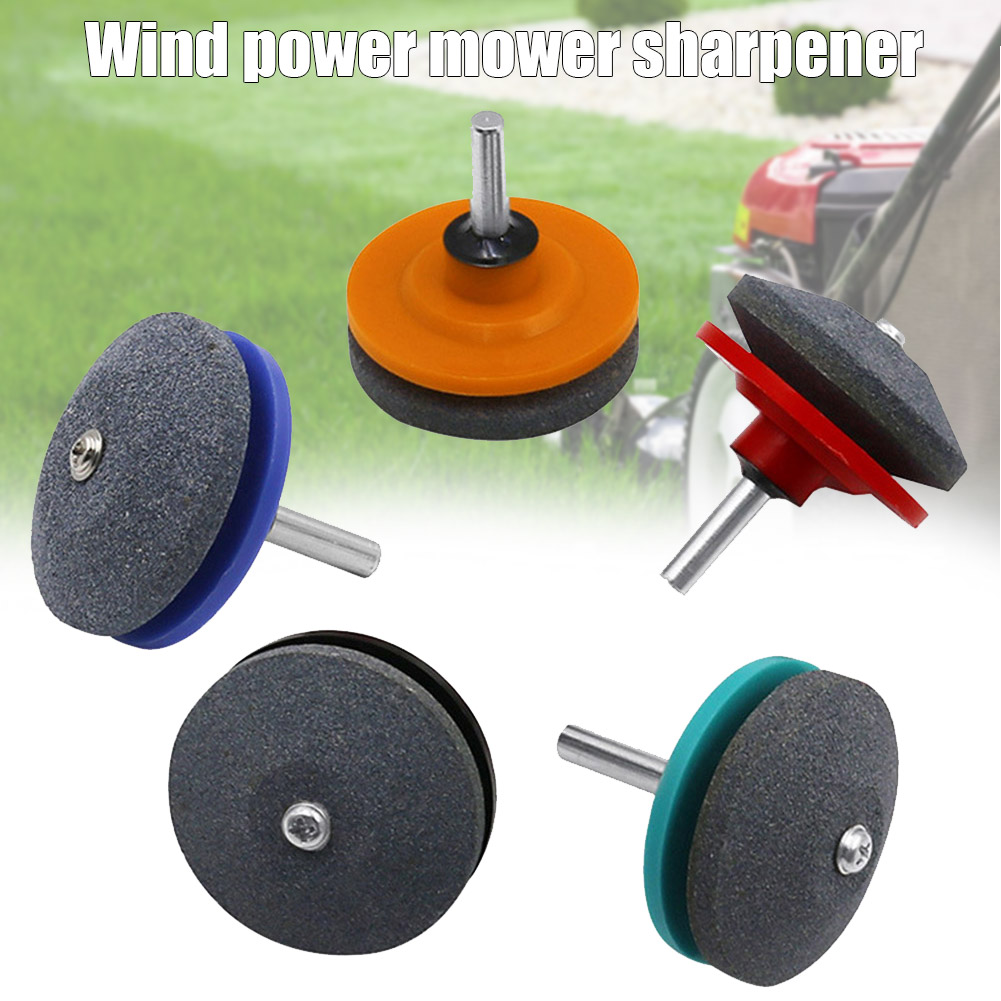 Sharpening Stone Grinding Head Lawn Mower Sharpener For Industrial Power Drill Best Price