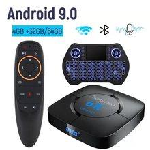 Tv box Bluetooth Android 9,0 Google Media player 6K 3D TV BOX Speicher Wifi Set Top Box Tv
