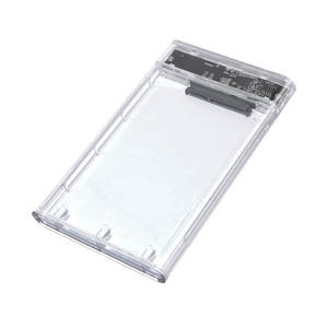 Box Hard-Disk Screwless Transparent Slidable Mobile Usb3. 0 Extraposition-Protective-Case