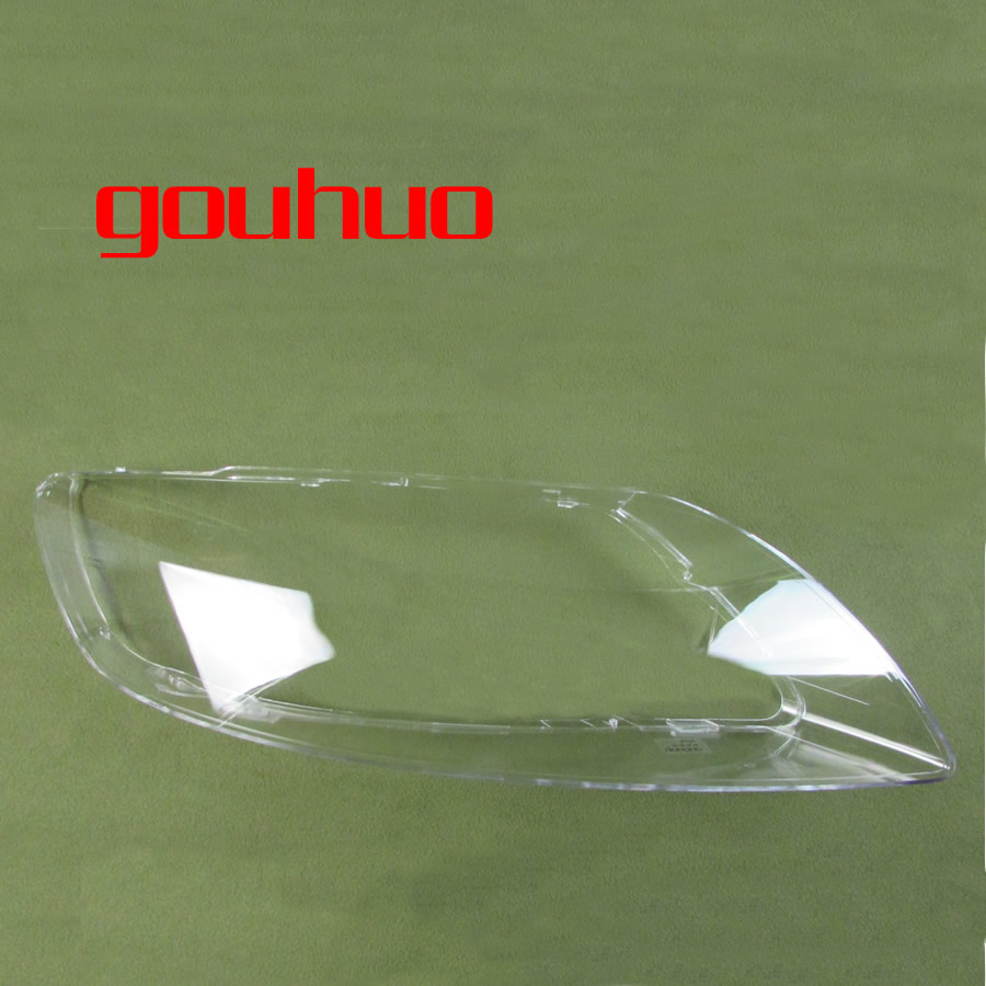 For Audi Q7 06 15 Lamp Shade Lamp Headlight Mask Headlights cover Shell Headlamp Lampshade Cover lamp shell lens-in Shell from Automobiles & Motorcycles