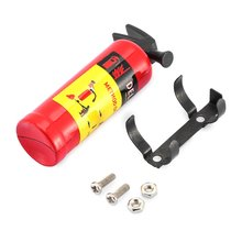 Mini Fire Extinguisher Toy T-power 1/10 Scale Fire Extinguisher Simulation RC Rock Crawler for AMIYA CC01 RC4WD  Accessory Toy rock werchter festival arcade fire thursday