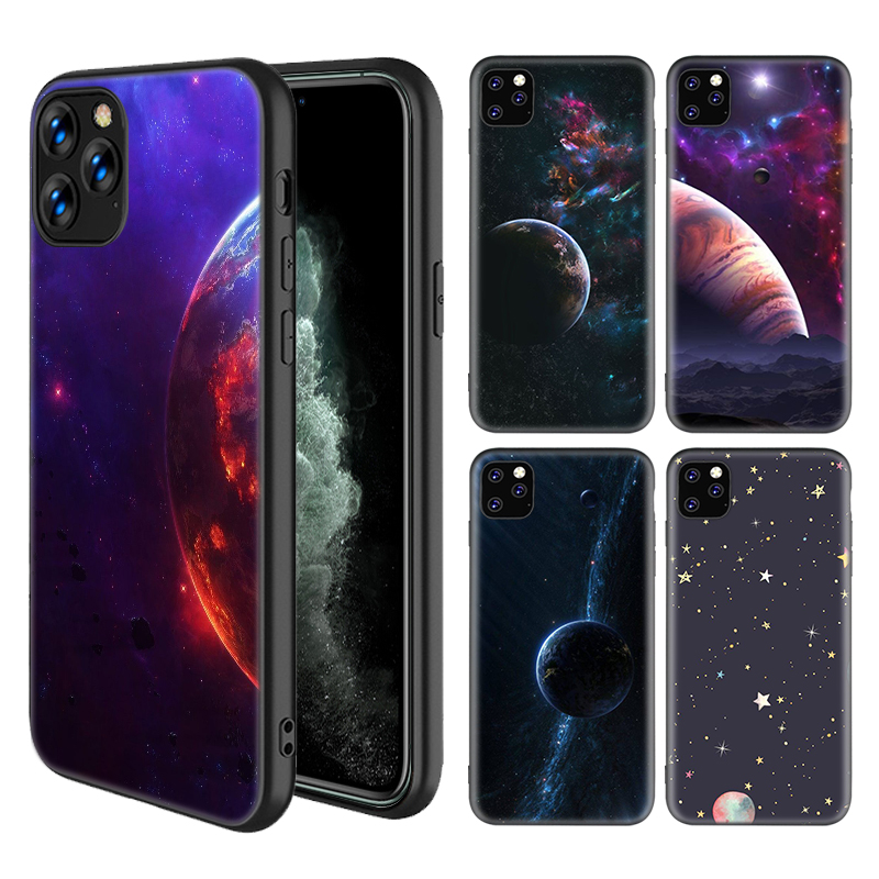 coque iphone 12 planets