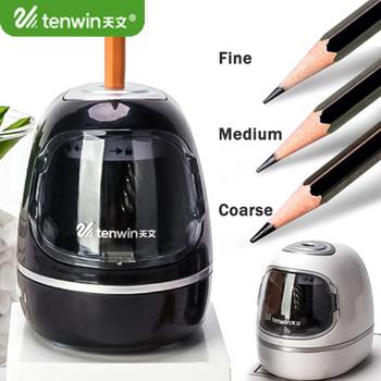 Tenwin 8030 Submarine Look Electric Auto temperówka USB Plug-in bateria podwójne tryby regulowana temperówka szkolne materiały papiernicze tanie i dobre opinie Elektroniczny Nowy Tenwin-No 8030 3 lata