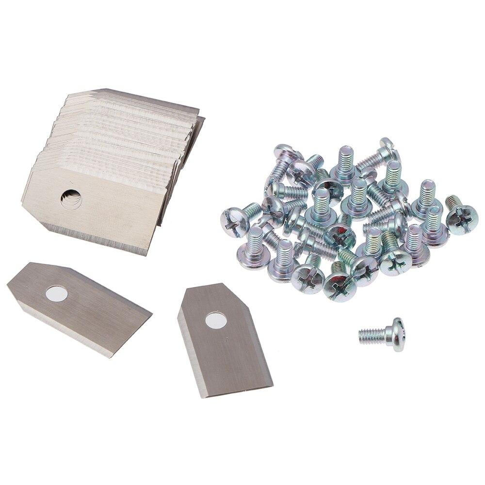 Lame tondeuses à gazon lame pour Husqvarna Automower robot tondeuse outils de coupe acier inoxydable 0.6mm accessoires de déménageurs