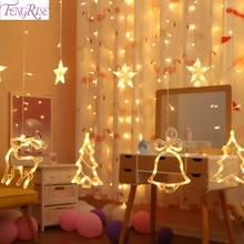 цена String LED Light Christmas Ornament 2019 Merry Christmas Decorations For Home Cristmas Navidad Natal Noel New Year Decor 2020 в интернет-магазинах