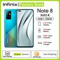 Глобальная версия Infinix Note 8 6 ГБ Оперативная память 128 Гб Встроенная память Helio G80 Octa Core 6,95 дюймов HD + Дисплей 5200 мА/ч, 18 Вт, быстрая зарядка, мобил...
