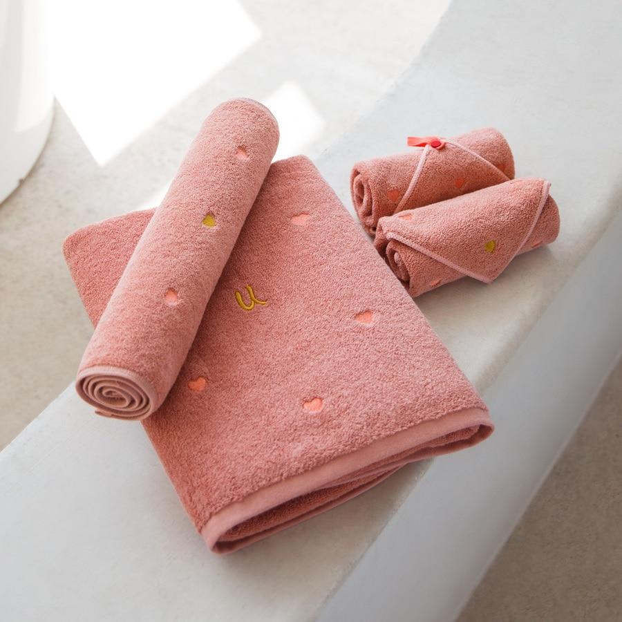 Serviette à séchage rapide serviette de bain trois pièces ensemble enfants serviette plage Toalla Microfibra Deporte serviettes de bain serviette tissée HH50YJ