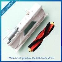 Novo original principal motor da escova com conjunto habitação para xiaomi roborock s5 s50 s51 s60/t60 s6 robô aspirador de pó peças reposição|Peças p/ aspirador de pó| |  -