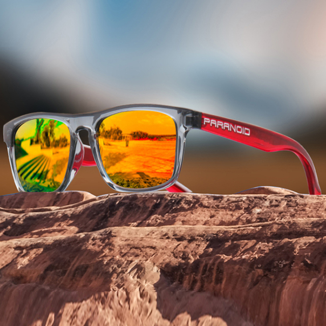 KDEAM Ultralight Mirror Polarized Sunglasses - UV400 2