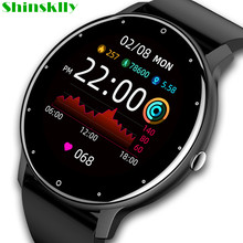 2021 Smart Watch Men Women Customize Wallpaper Heart Rate Monitor Fitness Tracker Sport Waterproof Smartwatch For IOS Android