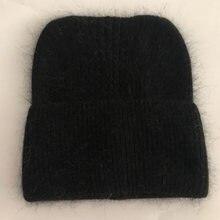 Повседневные новые зимние шапки шерстяные теплые бини для женщин