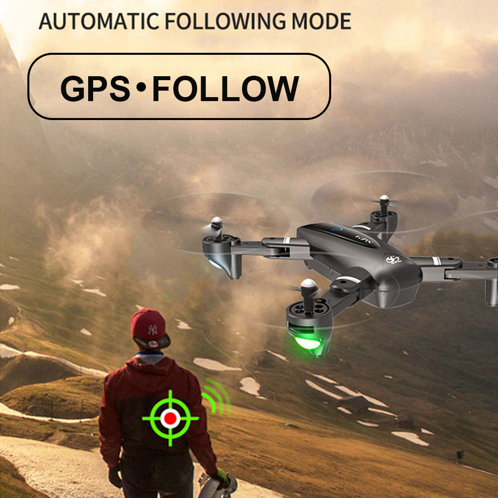 lowest price S60 Remote Control Drone Hd Aerial Photography Professional Four-axis Aircraft Folding Aircraft Model Aircraft Toy