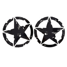 1Pcs Car Stickers 2 Colors 15cm*15cm Star Graphic Motorcycle Decals Vinyl Car-styling