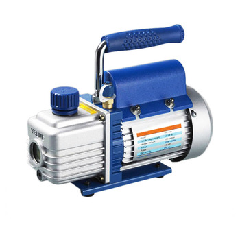 1L/s 2.12CFM R410a Rotary Vane Single Stage Mini Vacuum Pump for Vacuum Refrigeration Air Conditioning Refrigerator
