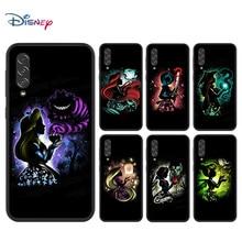Coque noire de dessin animé Disney, pour Samsung Galaxy A90 5G A80 A70S A60 A50S A30S A20E A20S M02