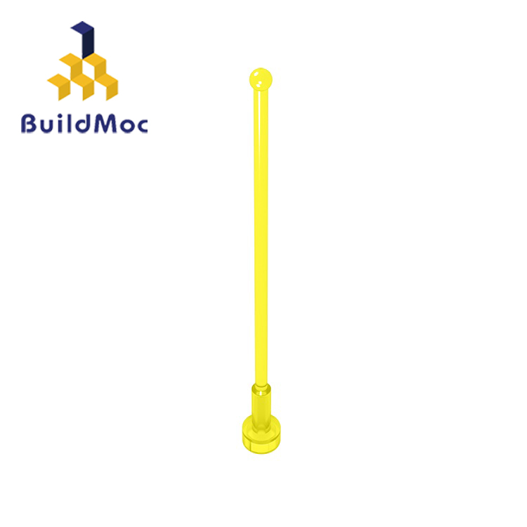 BuildMOC Compatible Assembles Particles 2569 Antenna Whip 8H For Building Blocks Parts DIY LOGO Educational Gift Toys