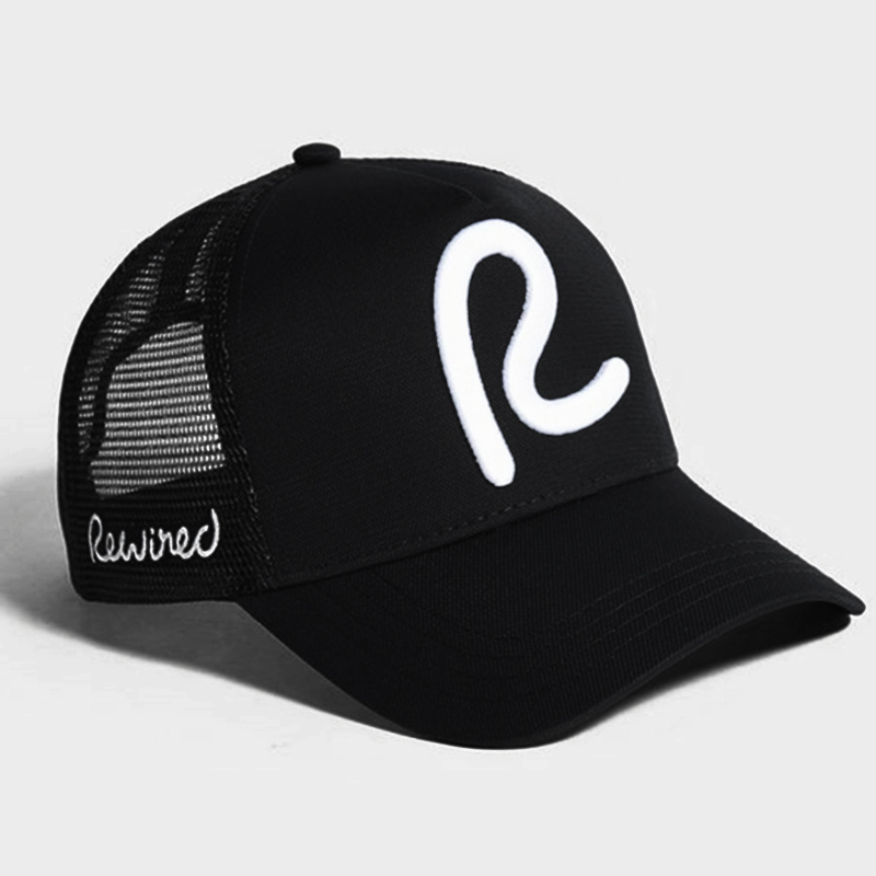 Rewired Baseball Cap Men Women Rewired R Trucker Cap Fashion Adjustable Cotton Cap Hats