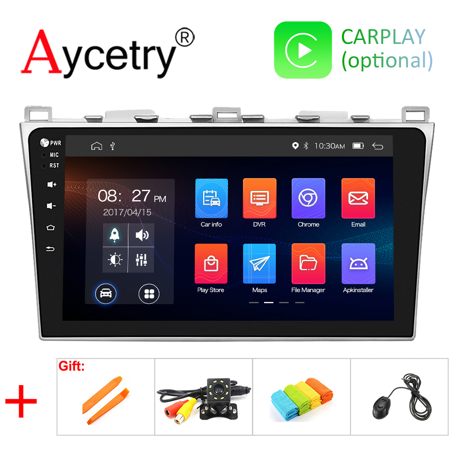 DSP IPS 10 1 For Mazda 6 M6 2008 2015 2 din 4G 8 Core Android