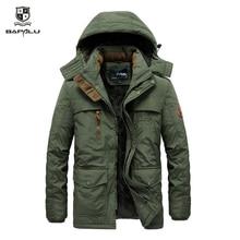 men clothes 2019 veste homme hiver coat Mens jacket Plus velvet thickening Warm jackets parka hombre hooded casual coats