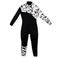 Men's 3mm Premium Neoprene Diving Suit Full Length Winter Swimming Surfing Snorkeling Wetsuits Jumpsuit