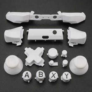Image 5 - 玉渓xbox one s交換フルクロームボタンキットabxyトリガーアナログスティック部品xbox oneスリム