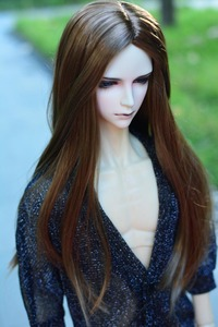 Image 5 - 1/3 BJD Wig Hair Super Doll Bjd Wig Fashion Style Curly Mohair Wig