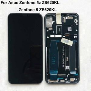 """Image 2 - 6.2 """"Asus Zenfone 5 2018 Gamme ZE620KL LCD 디스플레이 스크린 + Zenfone 5Z ZS620KL X00QD + 프레임 용 터치 패널 디지타이저"""