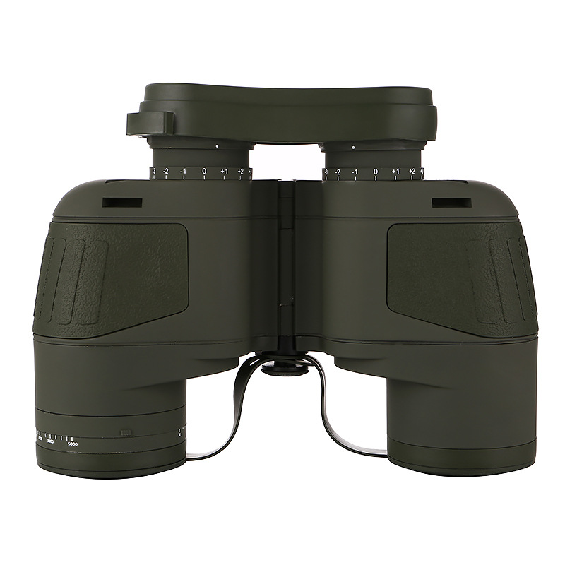 Image 4 - 10x50 Binoculars Nautical Compass Waterproof Telescope with Night Vision HD Professional Optical Telescope Military Standard-in Monocular/Binoculars from Sports & Entertainment