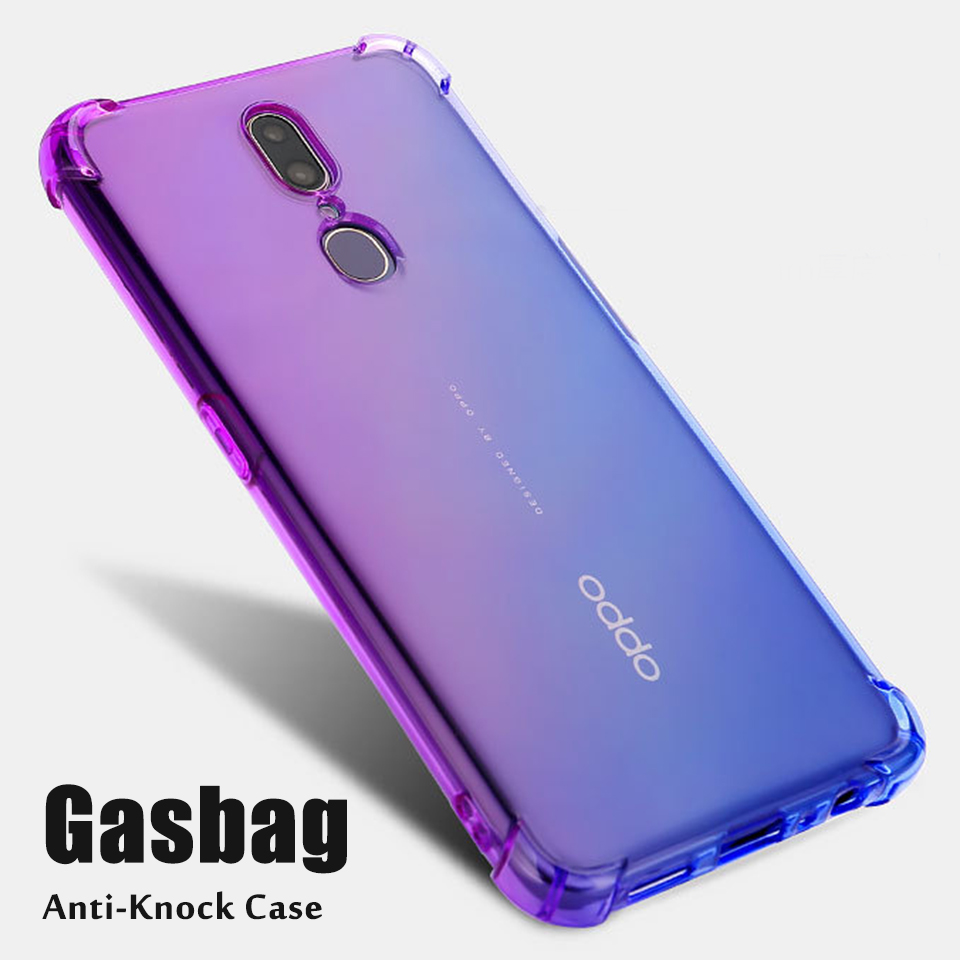 Shockproof Case for OPPO F5 F7 F9 F11 Pro Case Cover on for OPPO A9 2020 A5 2020 A7 AX7 A5S Transparent Case OPPO A3S A3 Cover image