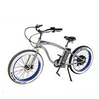 Fr26c Beach Electric Mini Bike 48v 500w Bike Electric Fatbike Fat Tire Fat Wheel E bike Made In China electric bike ebike