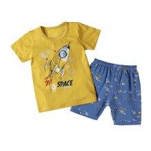 SAILEROAD Children's Pajamas For Boys Cool Rocket Pajamas