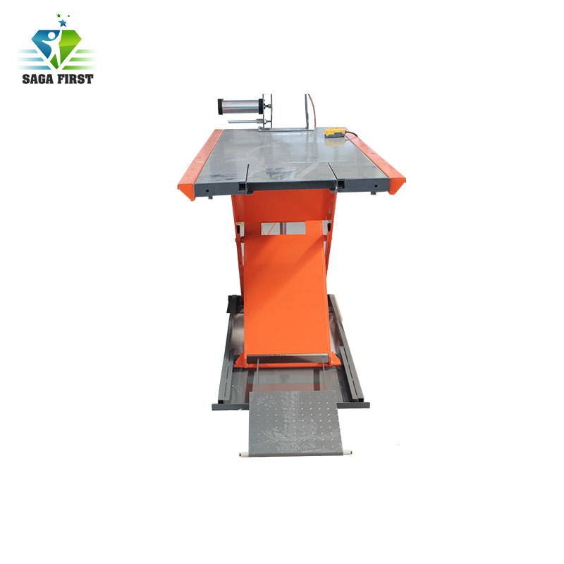 700kg Air Clip Pneumatic Electric Motorcycle Lift