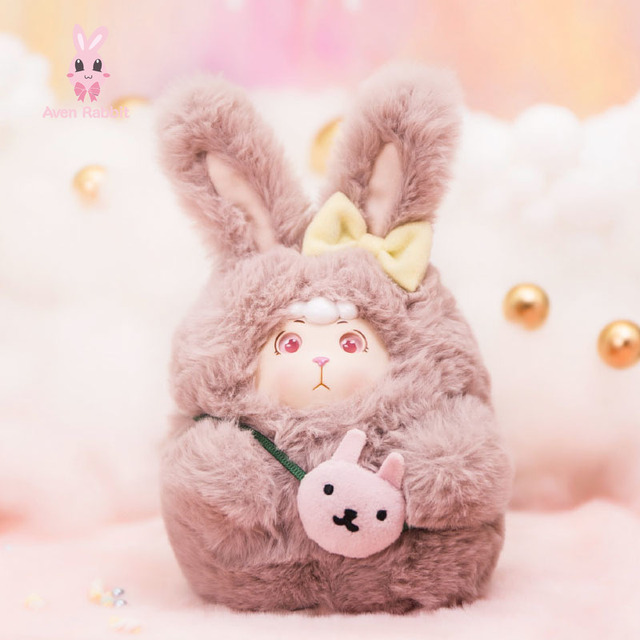 BONANA Small Wool Fleece Blind Box Toys Guess Bag Caja Ciega Blind Bag Toys for Girls Anime Figures Birthday Gift Doll 2