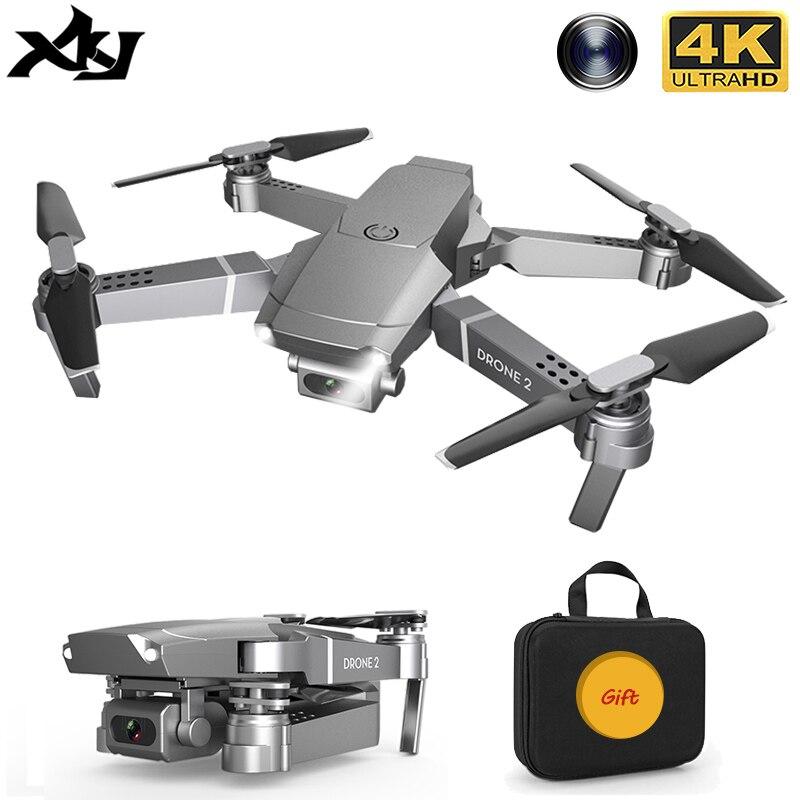 XKJ 2020 E68Pro мини Дрон 4K 1080P широкоугольная камера дроны Wifi FPV режим удержания высоты RC складной Квадрокоптер Дрон детский подарок|Квадрокоптер с дистанционным управлением|   | АлиЭкспресс - Я б купил