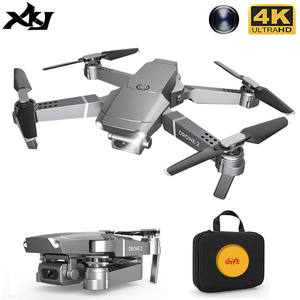 XKJ 2020 E68Pro Mini Drone 4K 1080P Wide Angle Camera Drones Wifi FPV Height Hold Mode RC Foldable Quadcopter Dron Kid's Gift
